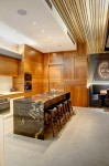 Spotted Gum Timber Veneer Kitchen