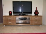 American Walnut TV Stand - 
